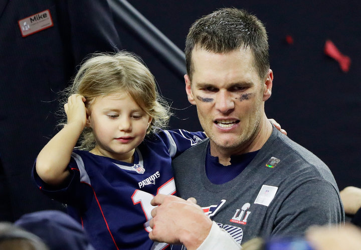Host Calls Tom Brady's Daughter An 'Annoying Pissant'