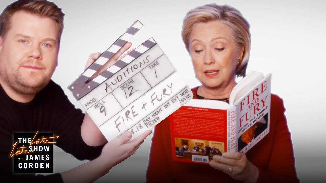 Grammys Go So Low; Hillary Clinton reads from 'Fire and Fury'