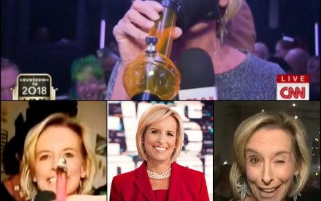 "CNN's Randi Kaye ended 2017 on a ""high"" note, covering New Year's Eve in Colorado, where recreational cannabis is legal"