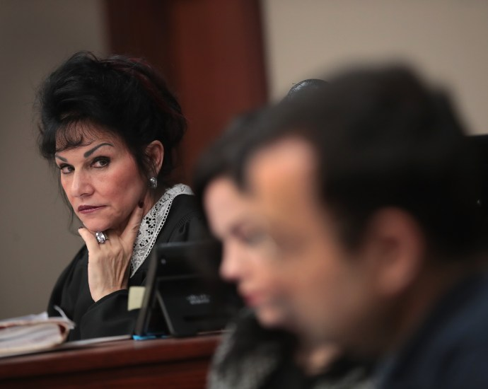 Vengeance from the bench; Did Judge Rosemarie Aquilina Cross A Line