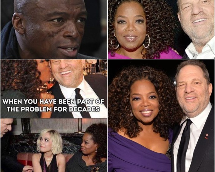 Seal Accuses Oprah Winfrey of Enabling Harvey Weinstein: You Are 'Part of the Problem'
