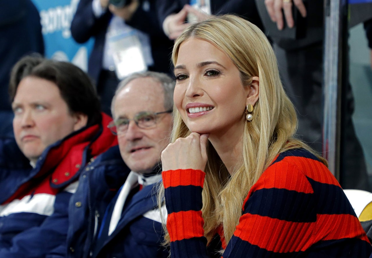 Ivanka Trump questions on her father's sexual misconduct is 'inappropriate'