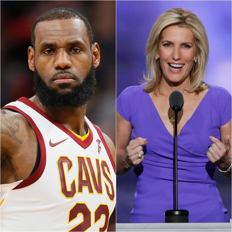 Laura Ingraham To LeBron James 'Shut Up And Dribble'