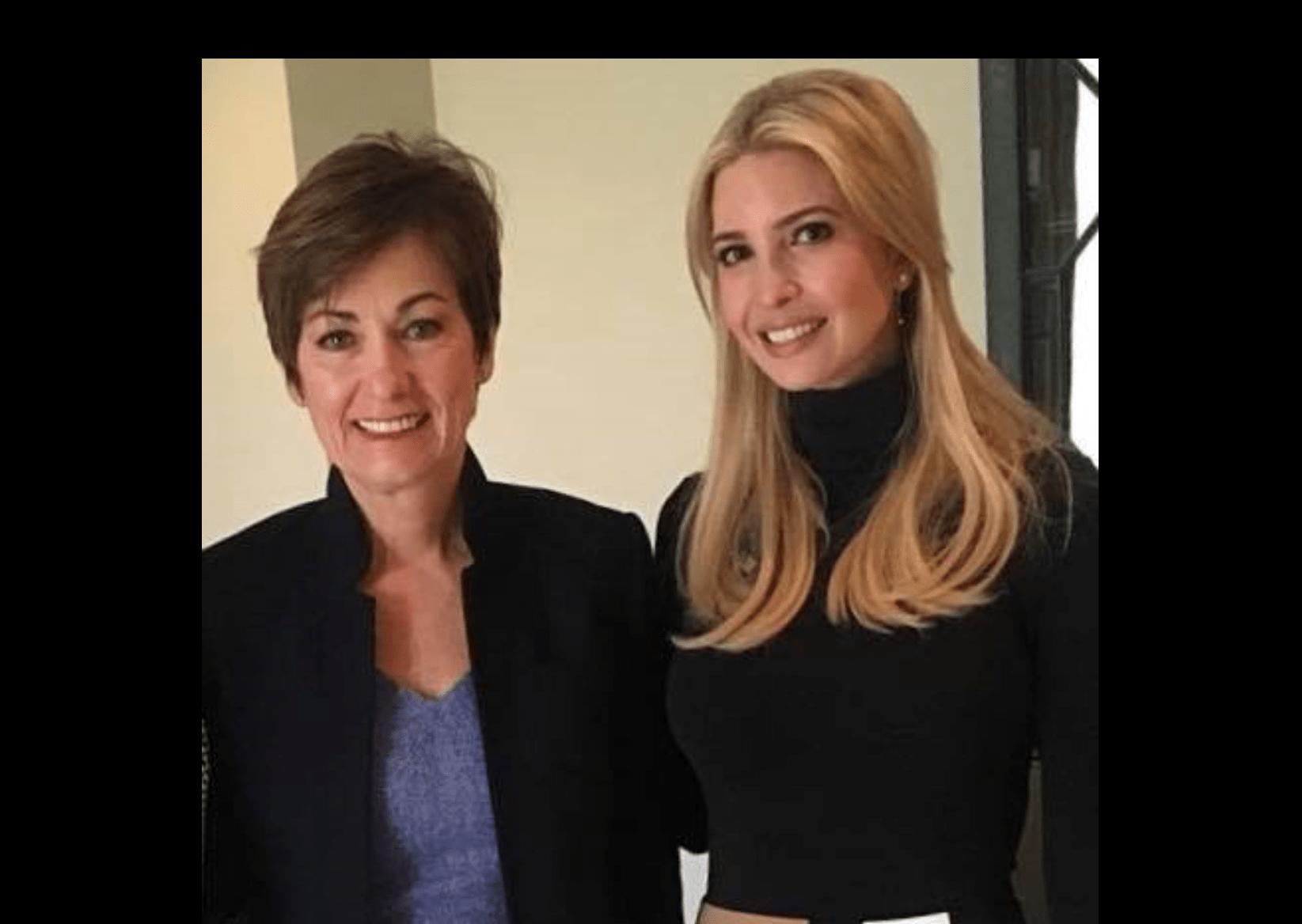 Iowa Hair Salon Receives BACKLASH For Doing Ivanka Trump's Hair
