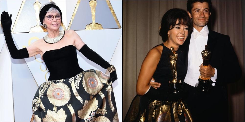 Rita Moreno Wore Same Oscar Dress From 1962