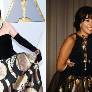 Rita Moreno Wore Same Oscar Dress From 1962