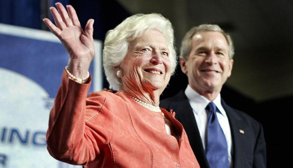 George W. Bush's Words On Mother Barbara Bush