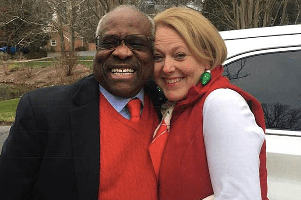 People Are Freaking Out Over Justice Thomas' Wife Ginni's Anti-David Hogg Facebook Posts