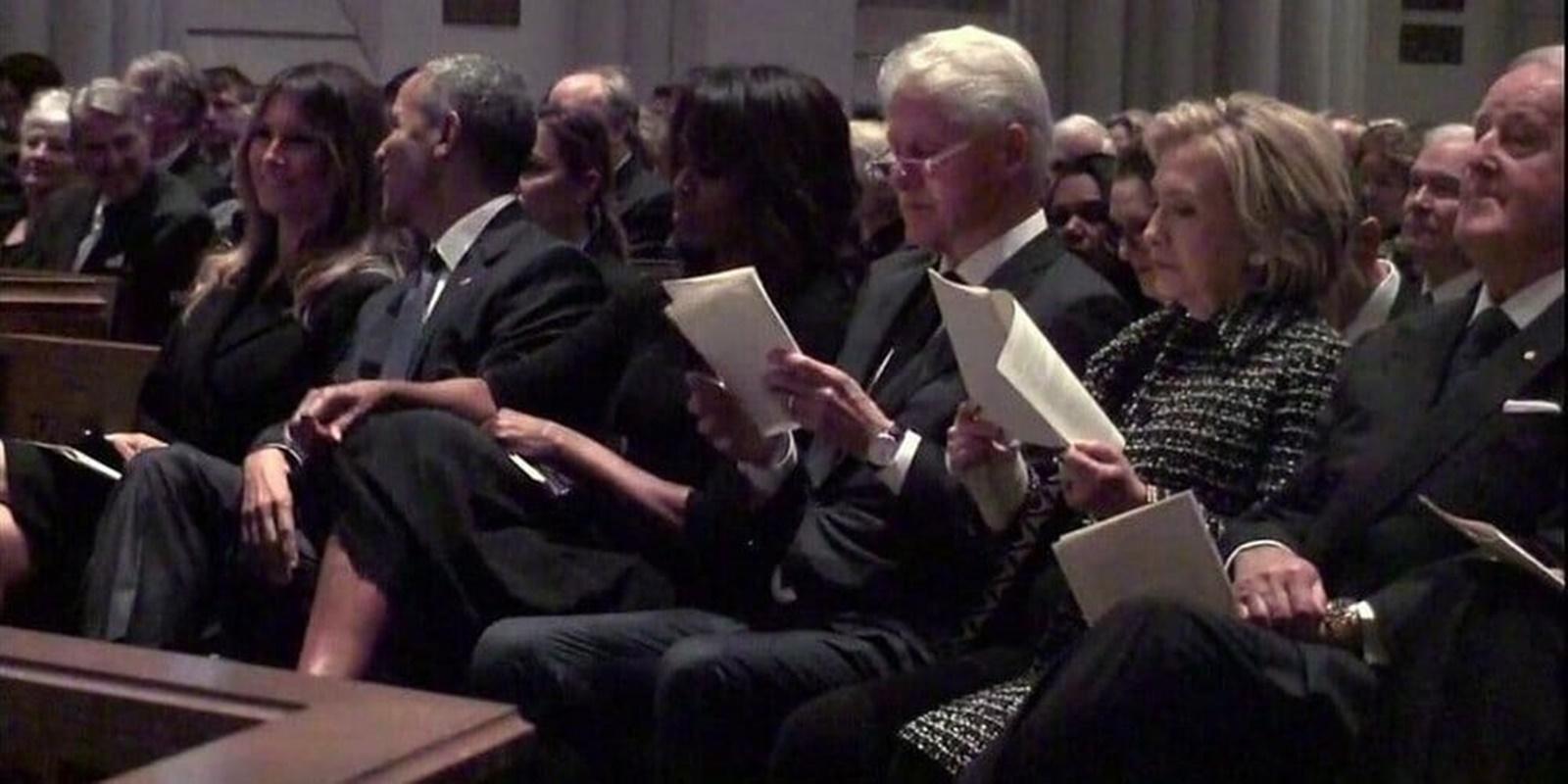 Liberals Are Politicizing Melania Trump's Appearance At Barbara Bush's Funeral