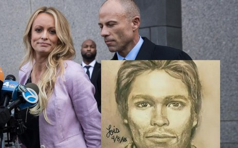 Stormy Daniels Releases Sketch of Man That Allegedly Threatened Her