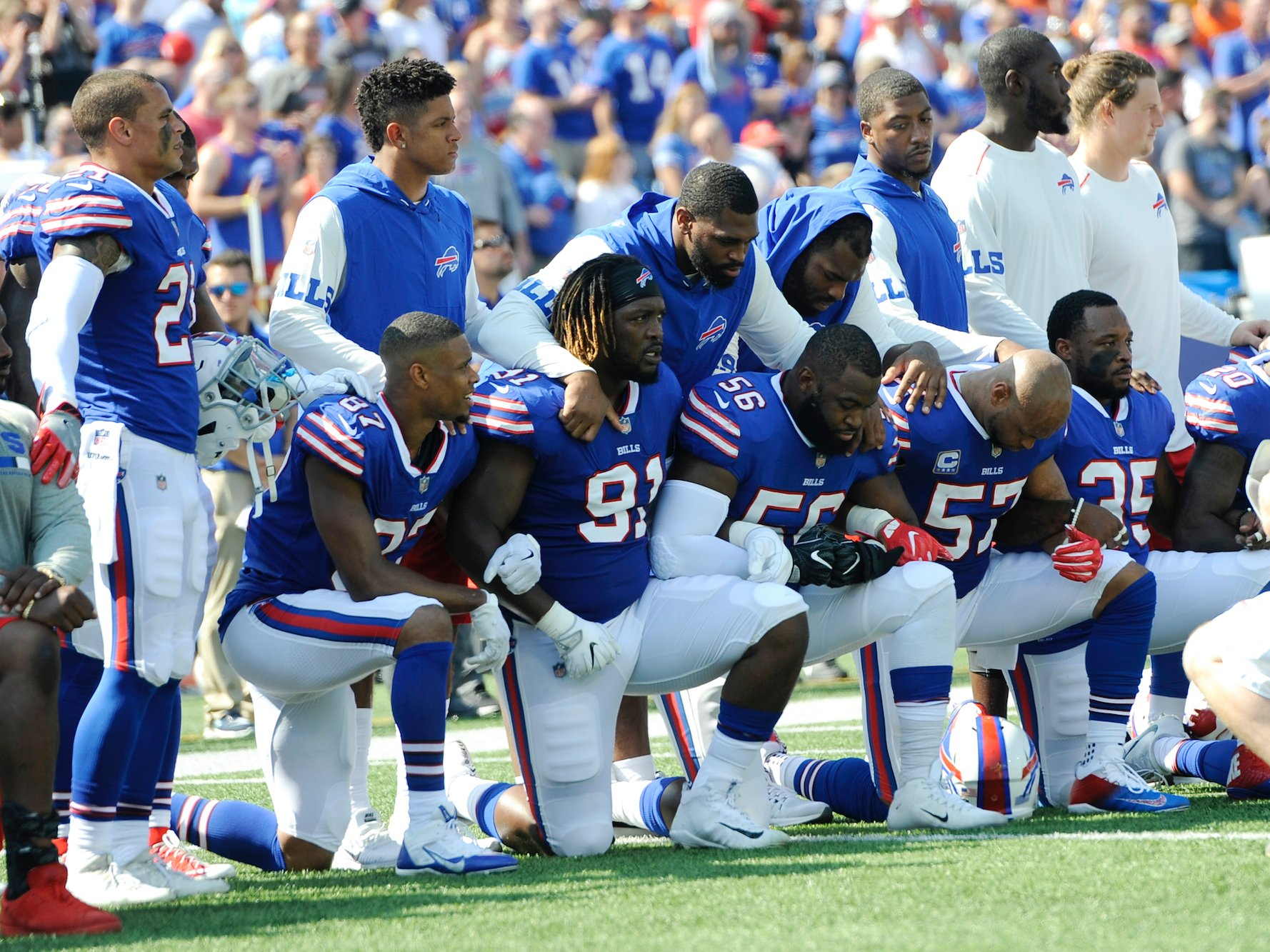 The NFL Announces Its New National Anthem Policy