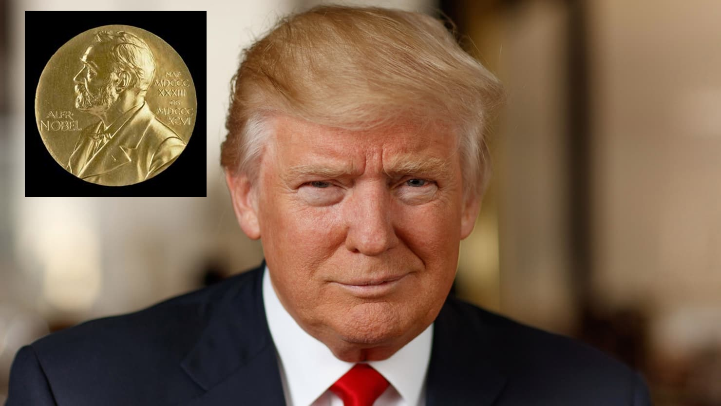 Trump Formally Nominated For The Nobel Peace Prize