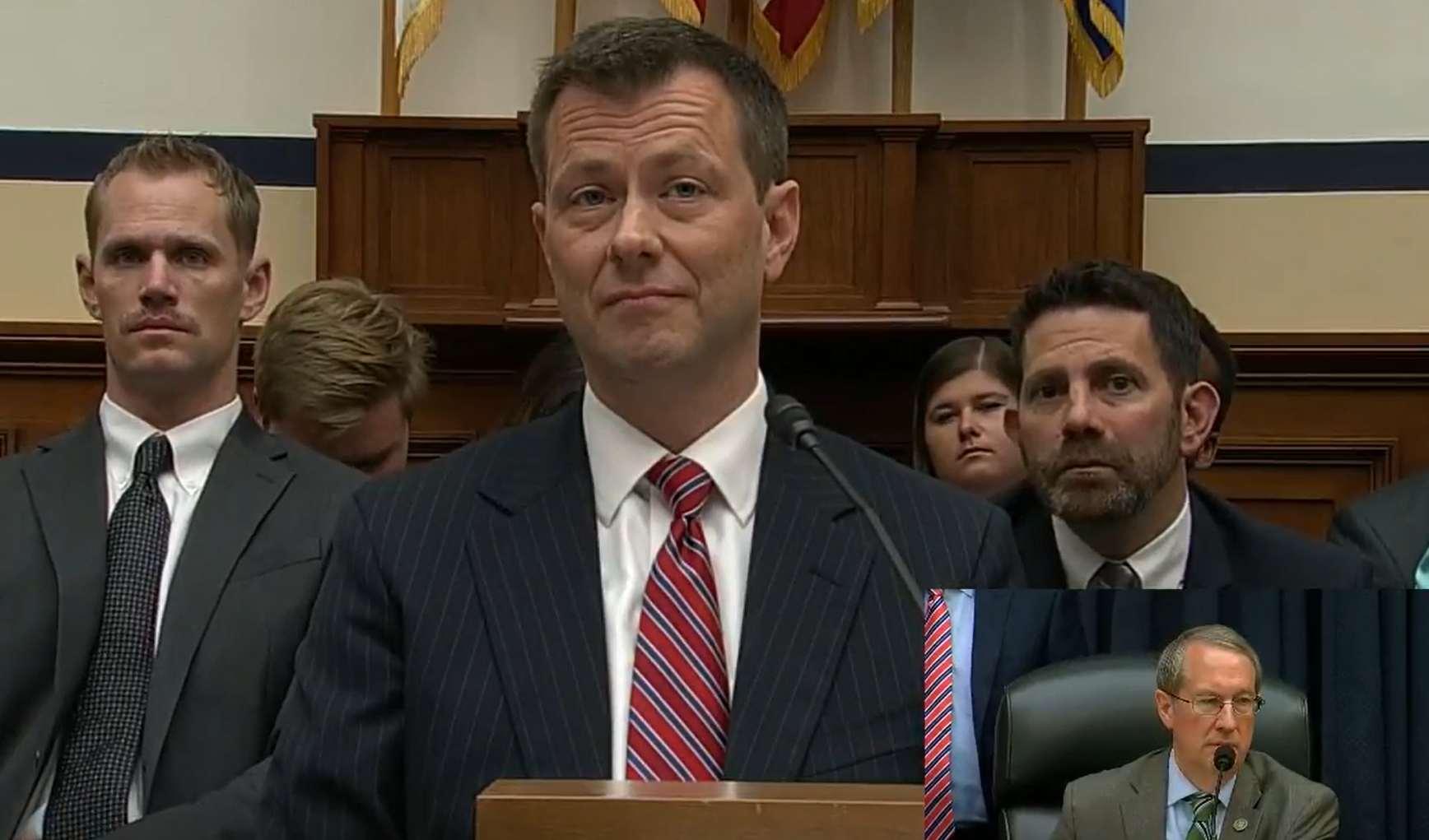 FBI's Peter Strzok testifies on Trump bias before House panel