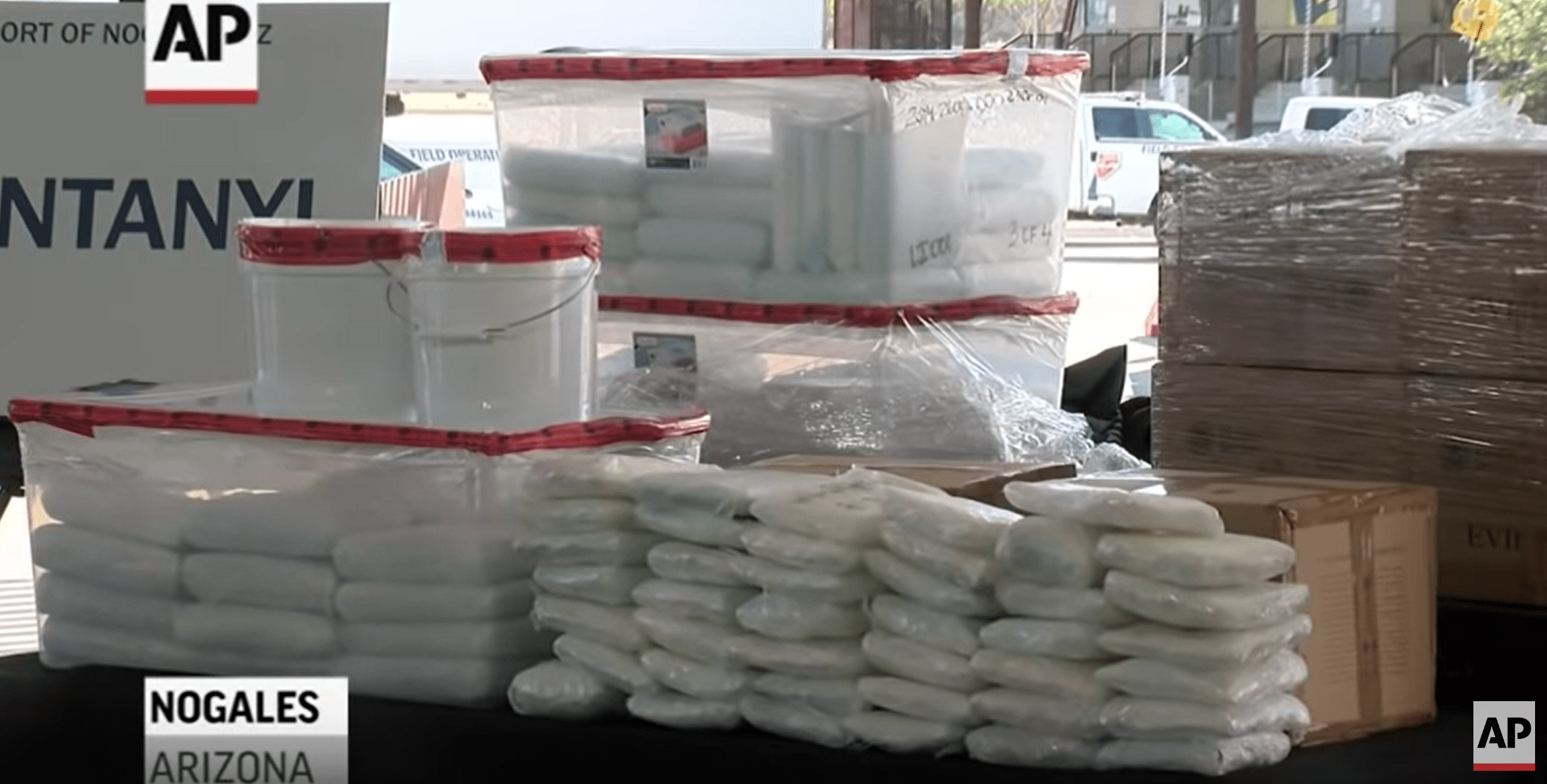 Largest Fentanyl Bust at US Border Could Have Killed 56 Million People