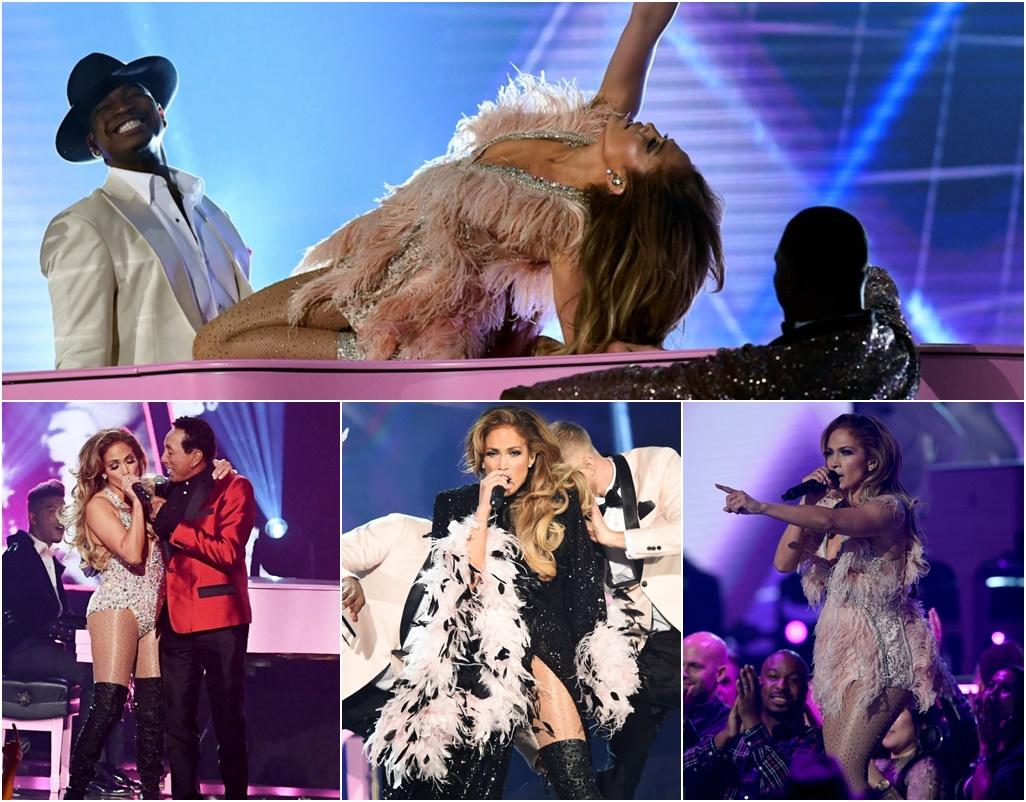 Jennifer Lopez Stands By Her Performance; Smoky Robinson Defends Grammys Motown Performance