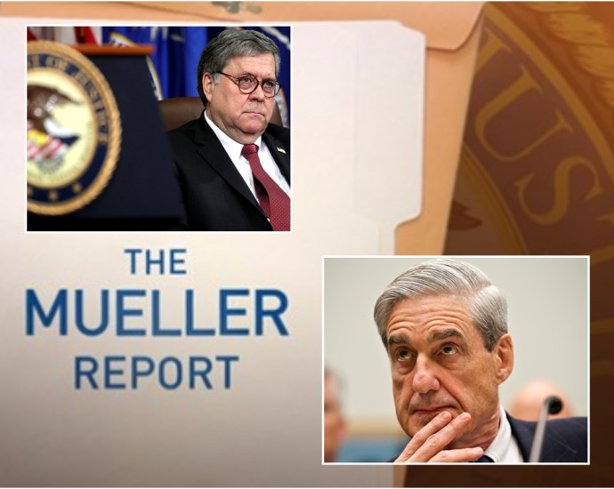 Justice Department Set To Release Redacted Mueller Report Thursday