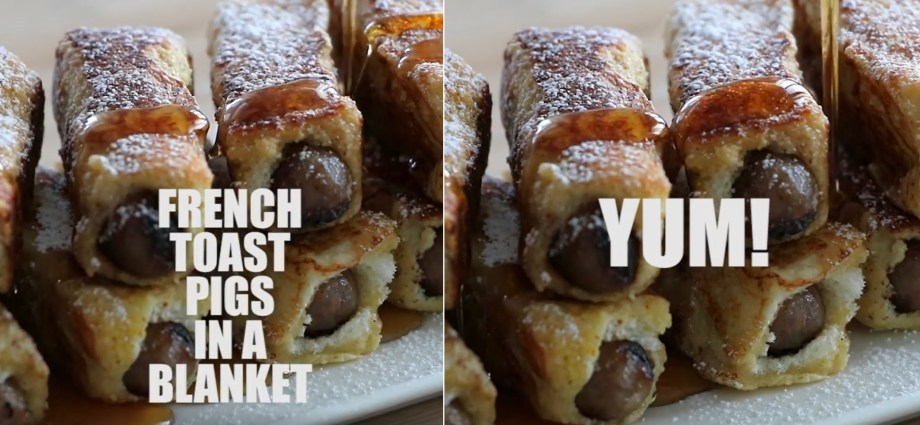 French Toast Pigs in a Blanket Recipe