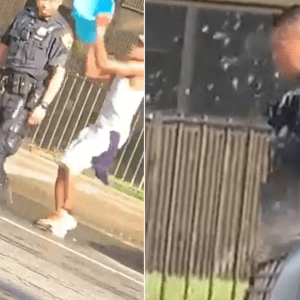 Videos Spark Outrage Over NYPD Officers Doused With Water
