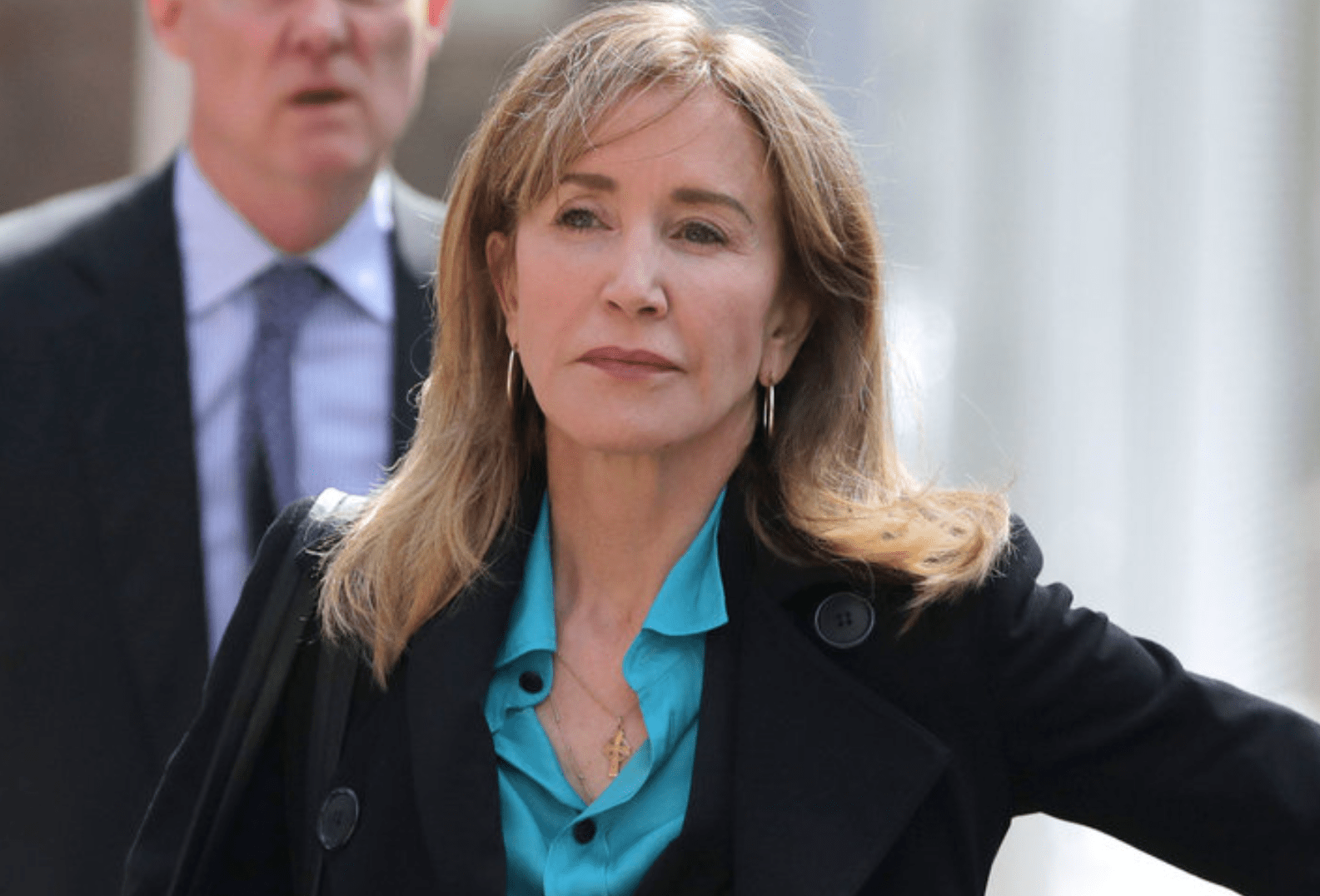 Felicity Huffman To Be Sentenced Friday In College Admissions Scandal; Prosecutors Plan To Seek Up To 10 Months Jail Time