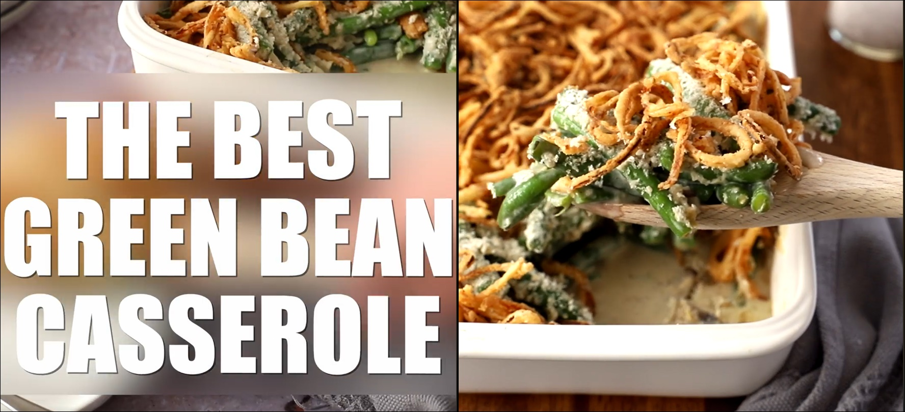 Best Green Bean Casserole From Scratch NO CANS