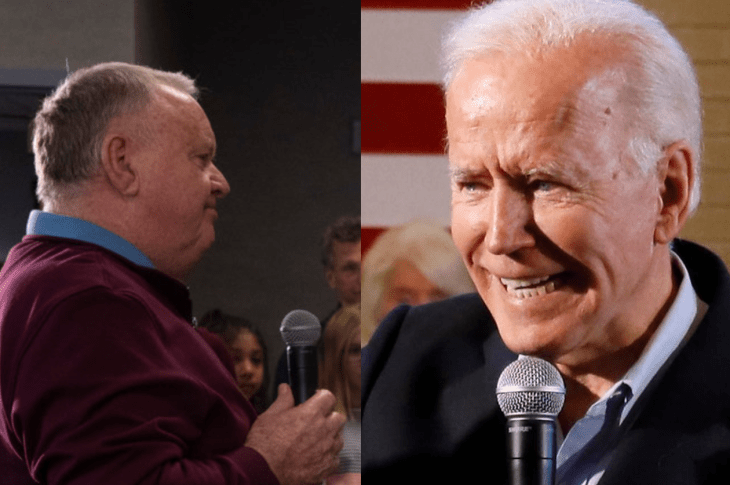 """Joe Biden lashes out at voter """"you're a damn liar, man"""", Biden calls him 'fat' after the voter repeats accusations against son 'Hunter' and Ukraine"""