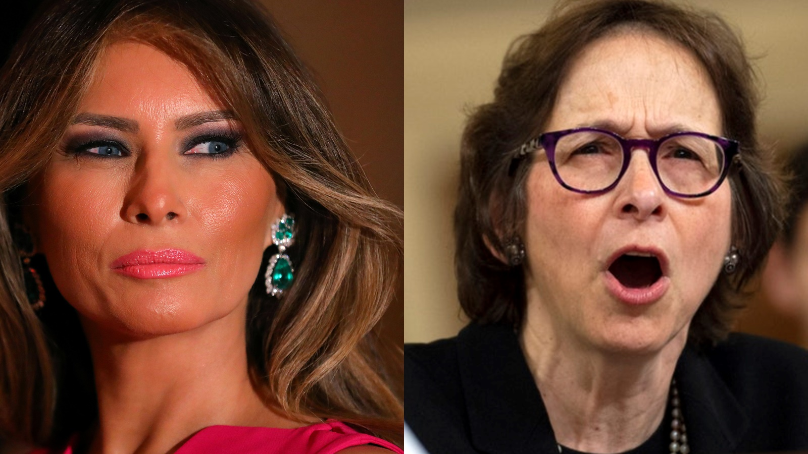 Melania Trump fires back at impeachment witness 'you should be ashamed' for mentioning son Barron