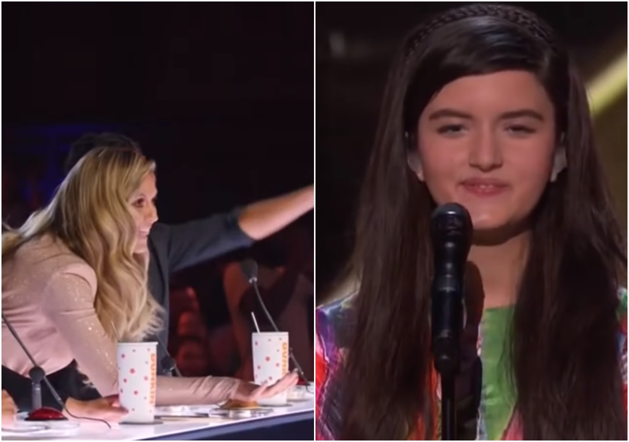 'America's Got Talent': Heidi Klum's Golden Buzzer Pick: Angelina Jordan