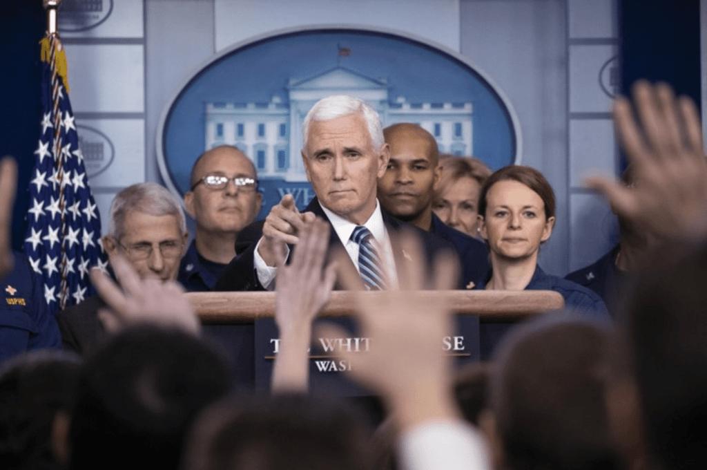 VP Mike Pence staffer tests positive for coronavirus