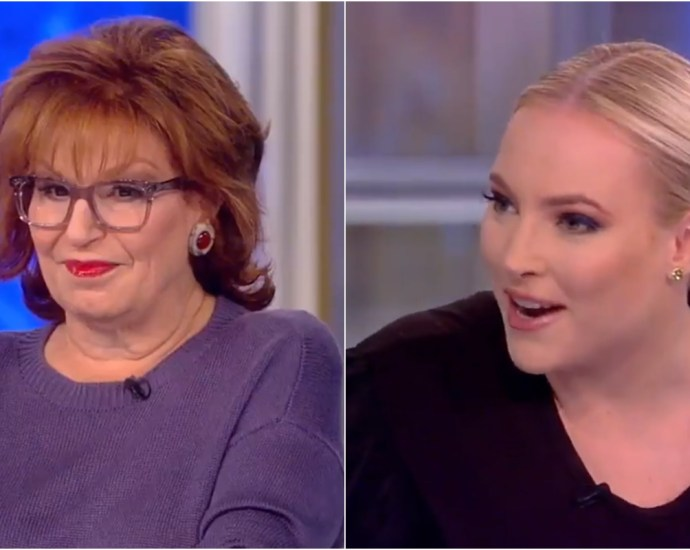 Joy Behar Suggests Meghan McCain Run For Office, McCain Asks Behar 'Would You Vote for Me?'