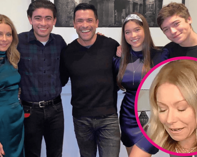 Kelly Ripa Tears Up Over Not Speaking With Two of Her Kids and Not Seeing Her Parents