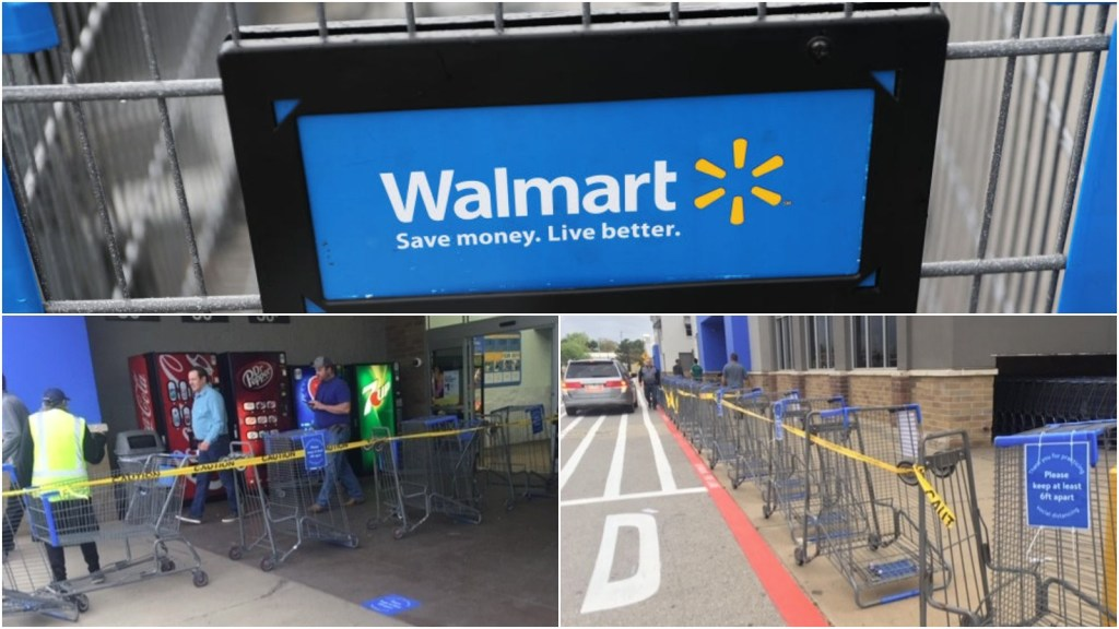 Walmart implementing new shopping guidelines amid coronavirus pandemic