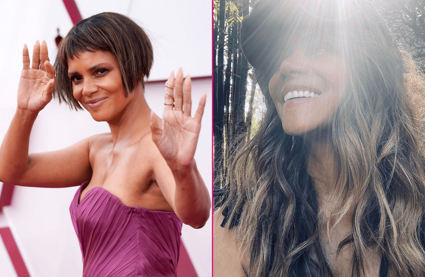 Halle Berry Debuted a Serious Hair Transformation at the 2021 Oscars NOT SO FAST!