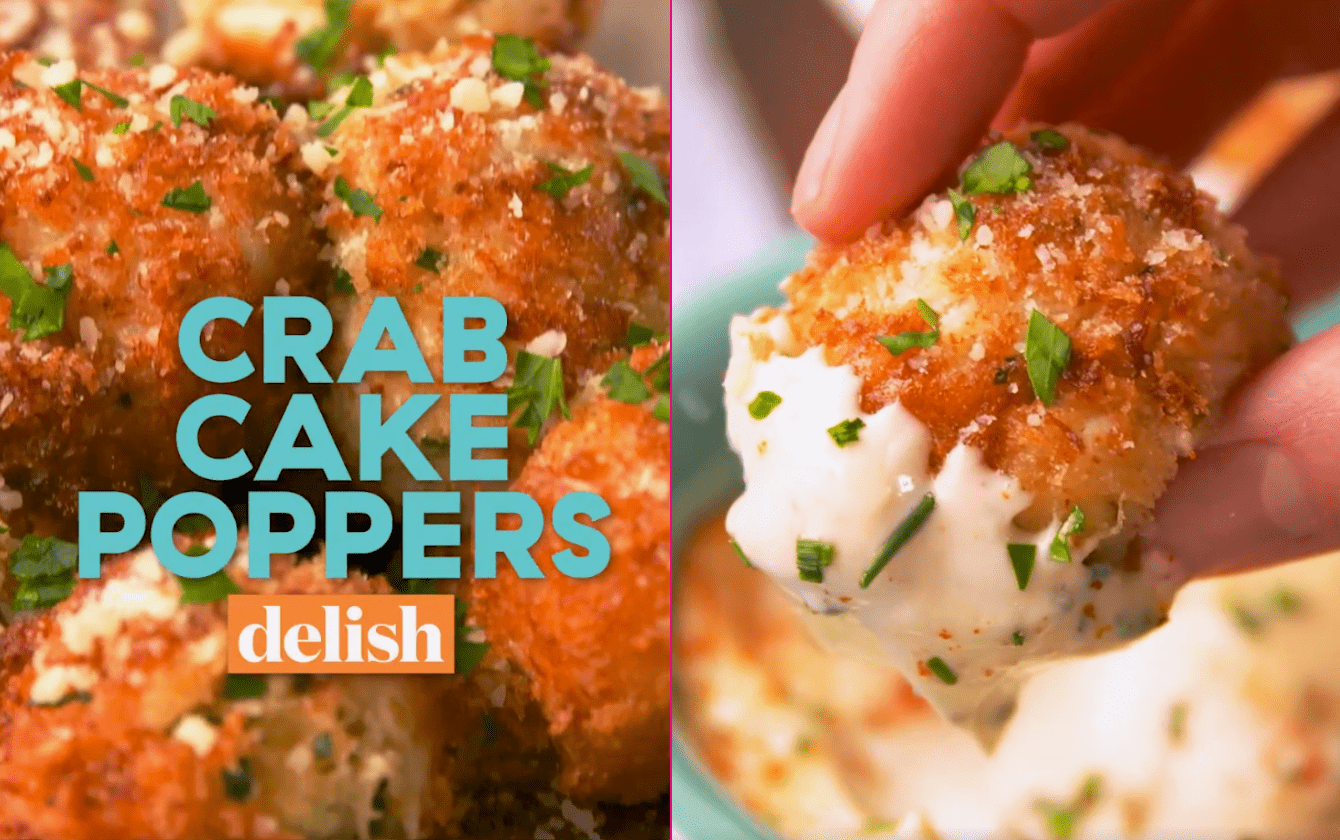 Crab Cake Poppers