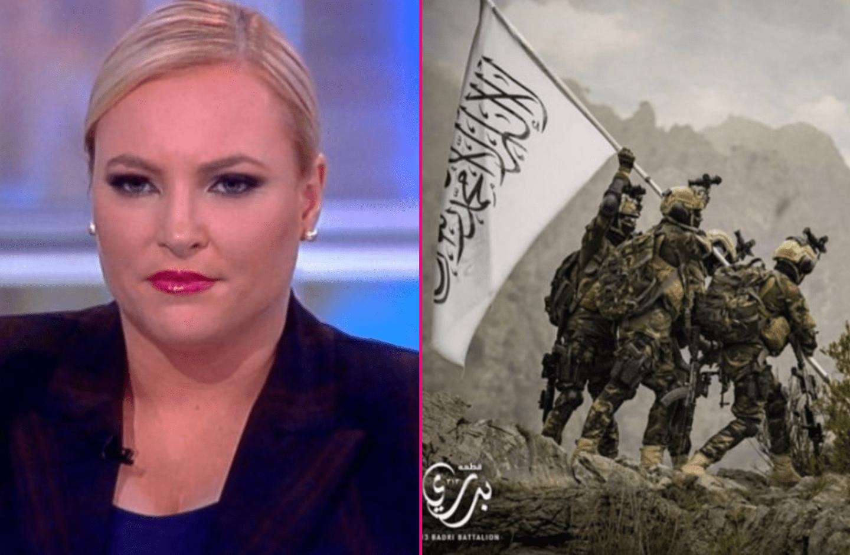 Meghan McCain Says U.S. Is 'Laughing Stock' Over Taliban's Mock Iwo Jima Photo