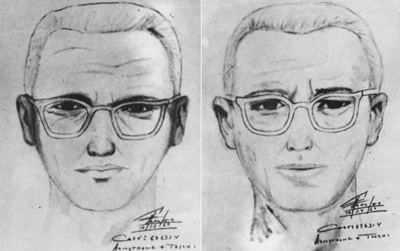 Associated Press: A police sketch of the Zodiac Killer by the San Francisco police department in the late 1960s