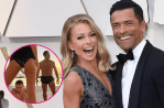 """Kelly Ripa and Hubby Mark Consuelos, Turn Up the Heat With """"Thirsty"""" Swimsuit Photo"""