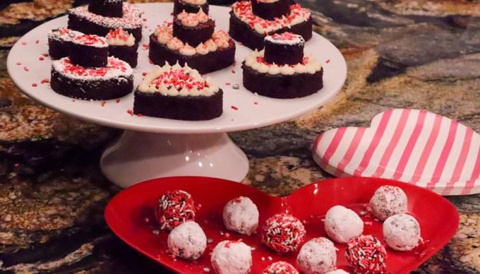 Valentine's Day Sheet Cake Creations