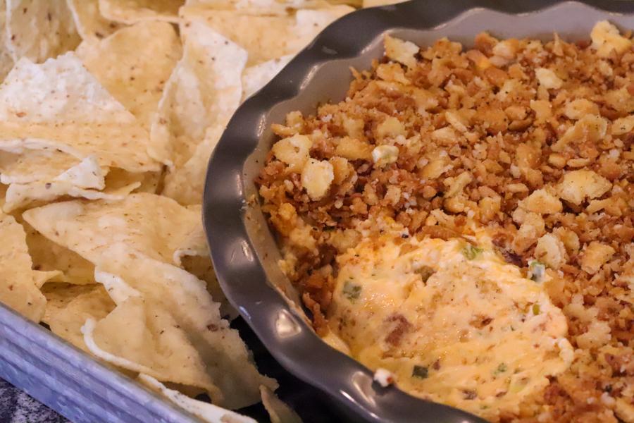 Cheesy Bacon Jalapeno Popper Dip 2