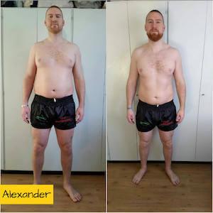 resultaat droog trainen protocol alexander