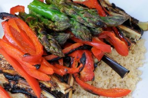 Whole Wheat CousCous Grilled Vegetables