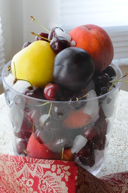 Ice Bucket of Tree Fruit