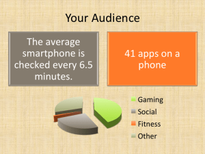 Apps and Your Audience