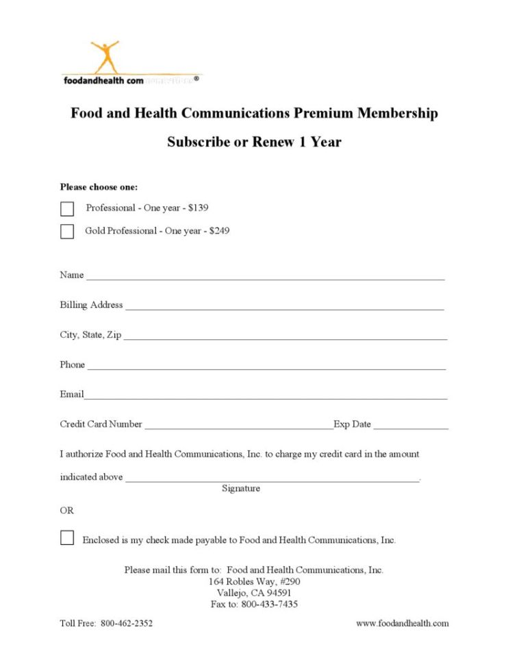 thumbnail of Food-and-Health-Communications-Premium-Membership-Form