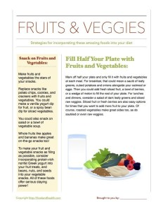 Strategies More Fruits Veggies