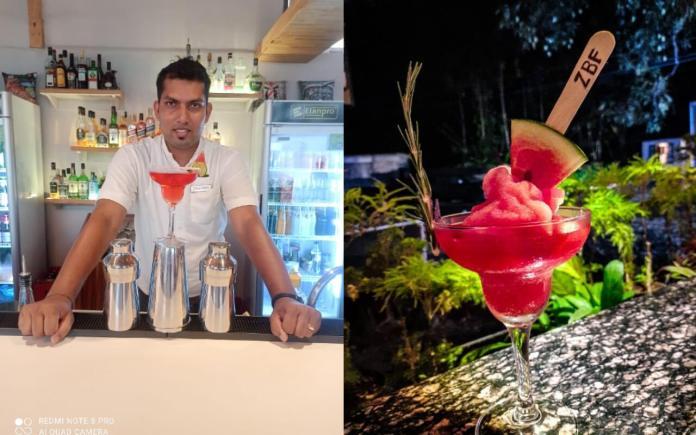 Valdroy Dias - A Master Bartender of ZBF Ziggy's by Fame