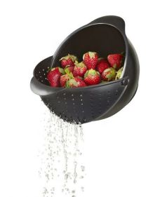 Rinse And Strain Fruits Or Veggies Easily With Umbra (Food & Humor)