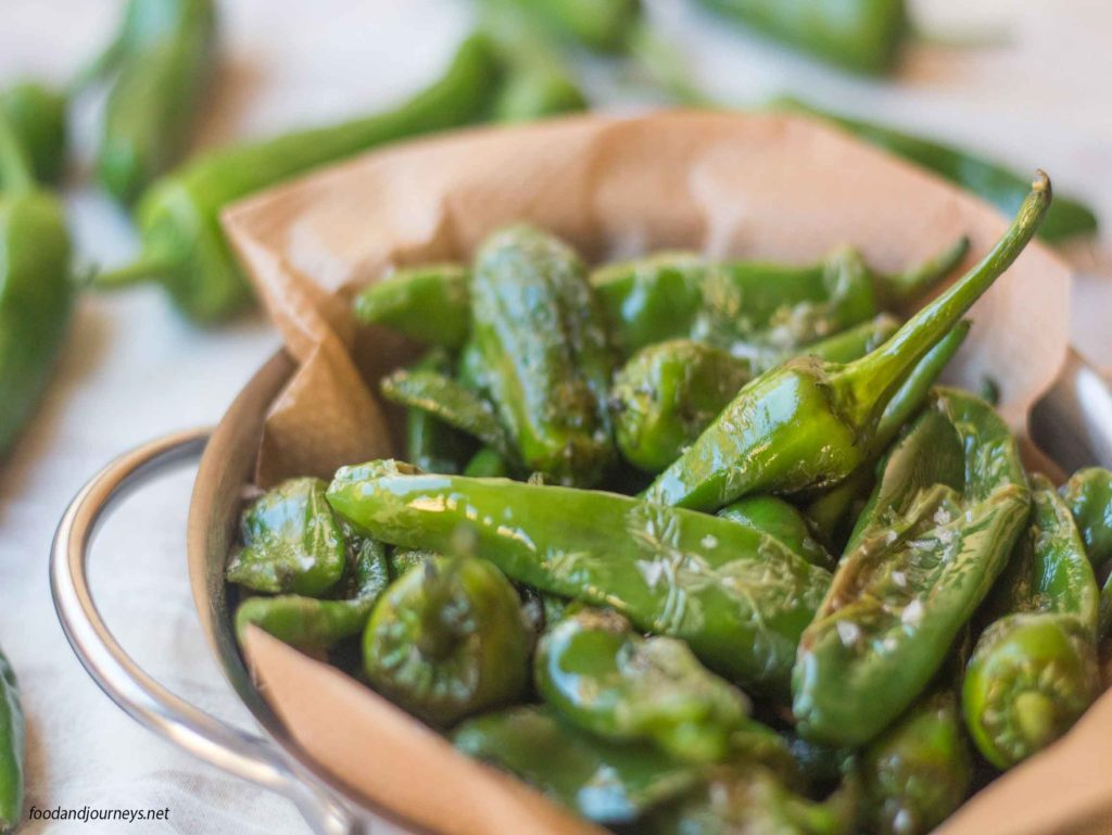 Fried 'Padron' (Green Peppers)