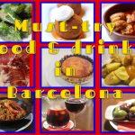 Must-try food & drinks in Barcelona