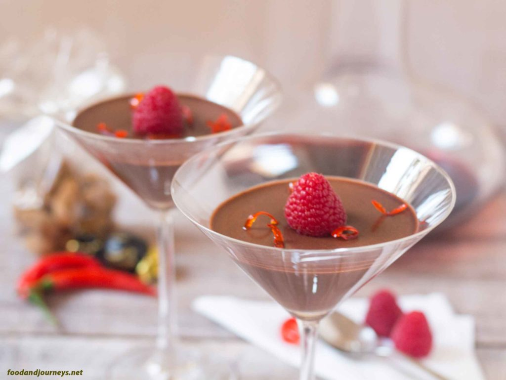 Chocolate Chili Pannacotta MPIC|foodandjourneys.net
