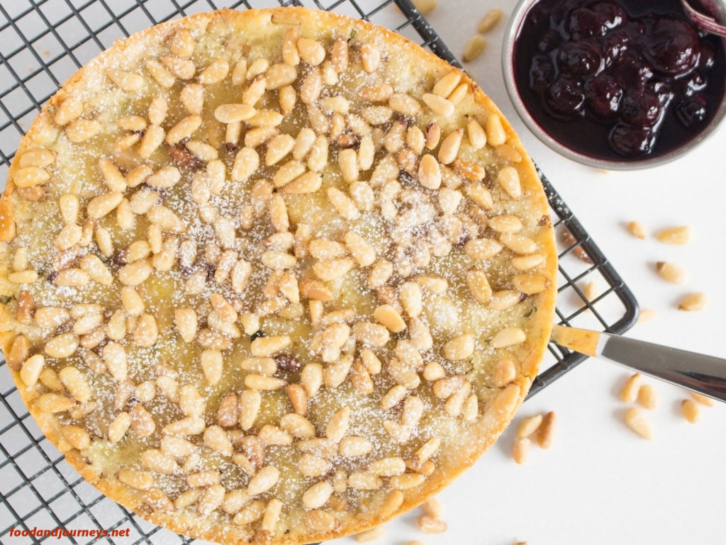 Lemon Pine Nut Cake